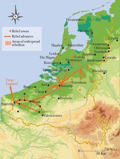 Spanish Netherlands, Netherlands Map, European Map, European History, French History, Modern History, History Books, World History, Holland Map
