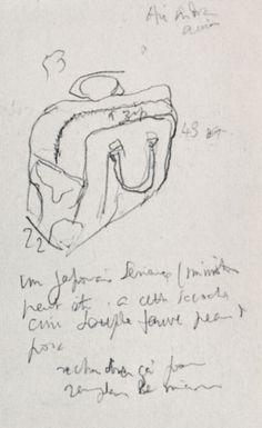 Sketch of a suitcase