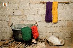 Colorazione della lana