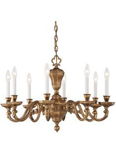 Casoria Dutch Baroque Chandelier With 8 Lights