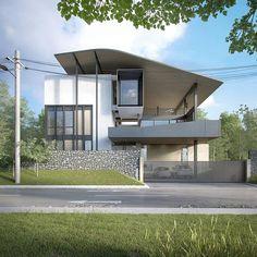 Minimalist House Design, Minimalist Architecture, Concept Architecture, Facade Architecture, Residential Architecture, Contemporary Architecture, Modern House Design, Arch House, House Roof