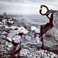 Peine de los vientos de Chillida fotografiado por Donibane #chillida #donostia #sansebastian #donibane