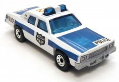 Matchbox police car