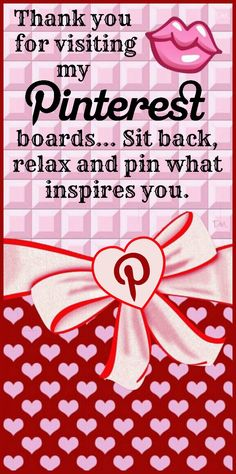 Pin what inspires you ♥ Tam ♥