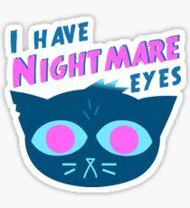 """Képtalálat a következőre: """"night in the woods mae nightmare eyes"""""""
