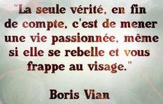 Vérité - Boris Vian