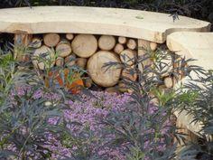 Log bench