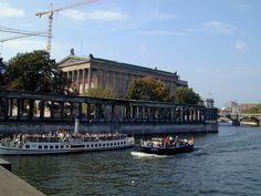 Berlin - Museum Island -AlteNationalgalerie -