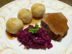 Kartoffelknödel - Bolinho de batata Alemão