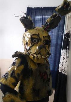 Springtrap suit from five nights at freddy s