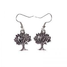 Forest genie's tree earrings Earring Tree, Drop Earrings, Silver, Jewelry, Jewlery, Jewerly, Schmuck, Drop Earring, Jewels