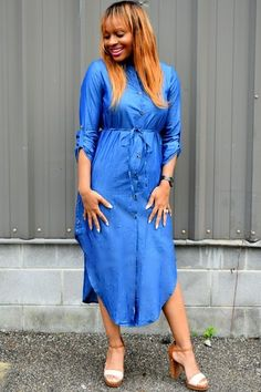 9dcb5a329e0 Discover this look wearing Denim Trish M Dresses - Reba with Trish M by  ladytrishm styled for Chic