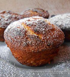 sütőtökös gluténmentes muffin Gluten Free Recipes, Healthy Recipes, Hungarian Recipes, Hungarian Food, Winter Food, Sugar Free, Food And Drink, Healthy Eating, Bread