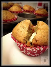 Made these tonight. Highly recommend! Happy in Dole Valley: Banana Ricotta Cinnamon Muffins {Muffin Monday}