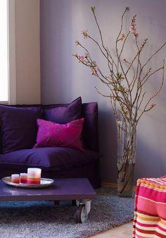 nice purpley corner