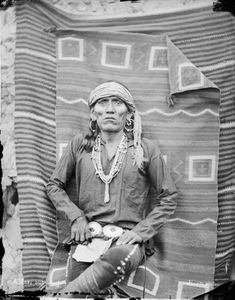 Hopi Man - Moki Sub-chief, 1879