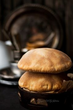 Homemade Whole Wheat Pita Bread - Binjal's VEG Kitchen