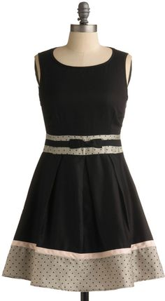 ModCloth Darkened Evening Dress - Lyst