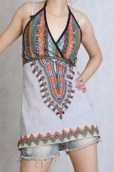 Flaxen linen vest skirt tank top sun top sun dress by angeldew, $19.99