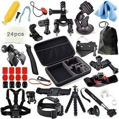 2.The Best Accessories Kit for GoPro Hero 4 Reviews