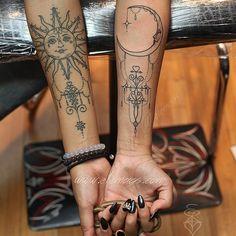 Sun & Moon Tattoo Artist: ELË MAGS ⛓NYC⛓