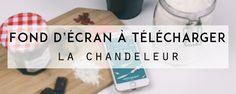 À télécharger gratuitement sur le blog, un fond d'écran de la chandeleur pour habiller les smartphones les plus gourmands !