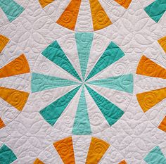 LOVE! The colors are perfect and the quilting is amazing!!! I love the back of it as well!!