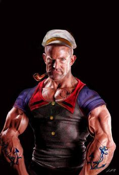Popeye The Sailor Real Life on Bodybuilding Motivation  http://www.bodybuildingmotivation.net