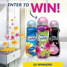 Soak up the summer and enter now for a chance to win a year's supply of Purex Crystals!