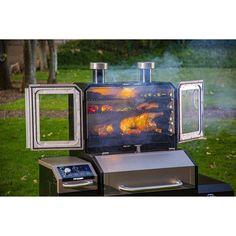 Barbacoa, Pit Boss Smoker, Small Smoker, Open Fire Cooking, Char Grill, Wood Pellet Grills, Bar B Q, Wood Pellets, Man Cave Home Bar