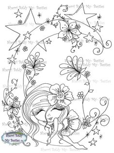 Sherri Baldy Digi Stamps You can adopt this Bestie :-) ******Have fun crafting****** This is for the black and white line art digi stamp only. You may use the images to create and sell handmade/colored cards and projects; please give credit to *Sherri Baldy* for the image
