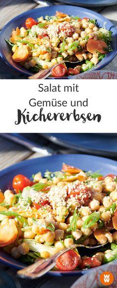 WW Your Way I zero Points I 0 Punkte I WW Rezept I Kichererbsen I Salat I Weight Watcher Deutschland