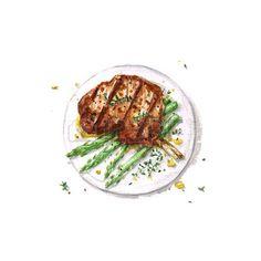 Food Art, A Food, Food And Drink, Recipe Drawing, Food Sketch, Cute Food Drawings, Watercolor Food, Food Stickers, Food Painting
