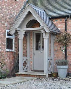 Best front door porch canopy house ideas – My World Cottage Front Doors, Front Door Porch, Front Door Entrance, Front Entrances, Cottage Porch, Garage Entry, Front Door Canopy, Front Porches, Cottage Windows