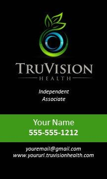 TruVision Health Verticle Business Card 1000 by CreationsByLeigh