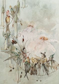 Illustration by Duncan Carse via The Magic Faraway Tree. Fairy Dust, Fairy Land, Fairy Tales, Fantasy Kunst, Fantasy Art, Leprechaun, Vintage Fairies, Beautiful Fairies, Magical Creatures