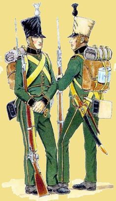Nassau-Usingen Fusiliers (2nd and 4th company)Regiment, 1815