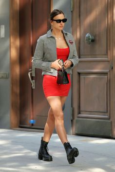 Pop Punk Fashion, Fashion Models, Models Style, Ootd Fashion, Modell Street-style, Irina Shayk Style, Street Style Summer, Celebrity Outfits, Daily Fashion