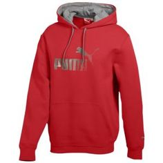 PUMA Pullover Fleece Hoodie - Men s - Sport Inspired - Clothing - Ribbon Red 0d3baecd3f