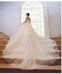 Custom Made Custom Made Pnina Tornia Inspired Ball Gown Wedding Bridal Dress