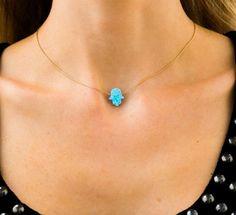 """OPAL FATIMA"" NECKLACE – Princess P Jewelry"