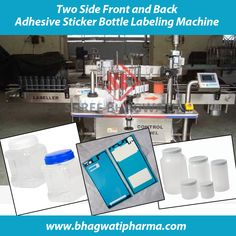 Bhagwati Pharma offers Automatic Round Cum Both Sided Sticker Labeling Machine which is widely used food bottle front and back labellers, cosmetics industry bottle front and back labellers, daily and chemical bottle front and back label applicator , Nutraceuticals bottle two side front and back labeling machine , pharmaceutical bottle labelling machine, oil bottle front and back labelers systems , house hold and personal care bottle front and back , wrap round labeling machine. Visit at…