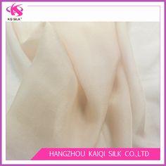 Hot Sale Silk Chiffon Plain Dyed/Solid Color Fabrics Chiffon for Dress/Scarf Beige/Light Incarnadine Pure Silk Chiffon Georgette