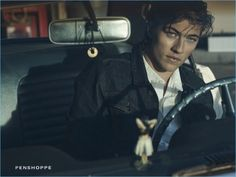 If you can't get enough of Lucky Blue Smith, you're in luck. We take a look at additional images from Lucky's latest Penshoppe campaign. Channeling a retro attitude, Lucky fronts the brand's DenimLab advertisement. Photographer Mark Squires captures the American model in a car garage. Not afraid to get his hands dirty, Lucky poses with...[Read More]