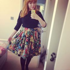 Alexandra's Frida Kahlo Clemence skirt - instructions in Love at First Stitch