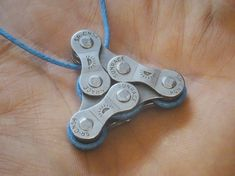 Upcycled Bicycle Chain Necklace #bicycleaccessories
