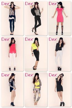 DEX DEX DEX! Neon and classic black and white. Hitting stores soon! www.dexclothing.com