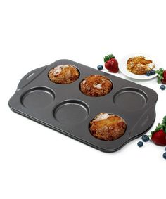 Take a look at this Nonstick Puffy Muffin Top Pan on zulily today!