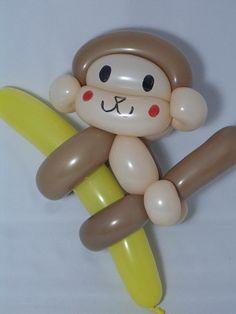Balloon monkey twist