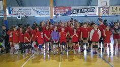 Giornata di festa per i pulcini del mini volley a Santa Maria degli Angeli